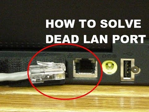 How To Solve Dead Lan Port Connection By Using Usb 2 0