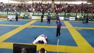 Semi-final do campeonato Centro-Oeste Brasileiro de Jiu-jitsu em 26/03/2017