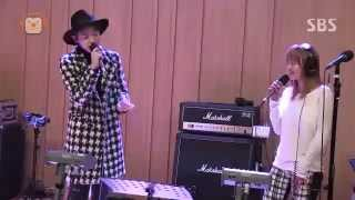 Hyorin&Jooyoung - Erase live @ Cultwo show