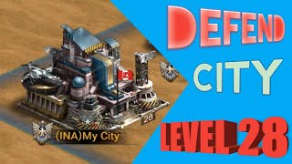 Trick to defend the city Level 28 on last empire war z (LEWZ) screenshot 1
