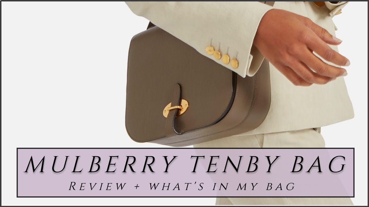 MULBERRY TENBY BAG REVIEW + WHAT S IN MY BAG   INSPIRED BY IDA ... e4e5abb967