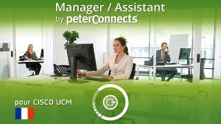 PeterConnects Manager/Assistant pour Cisco UCM - Français