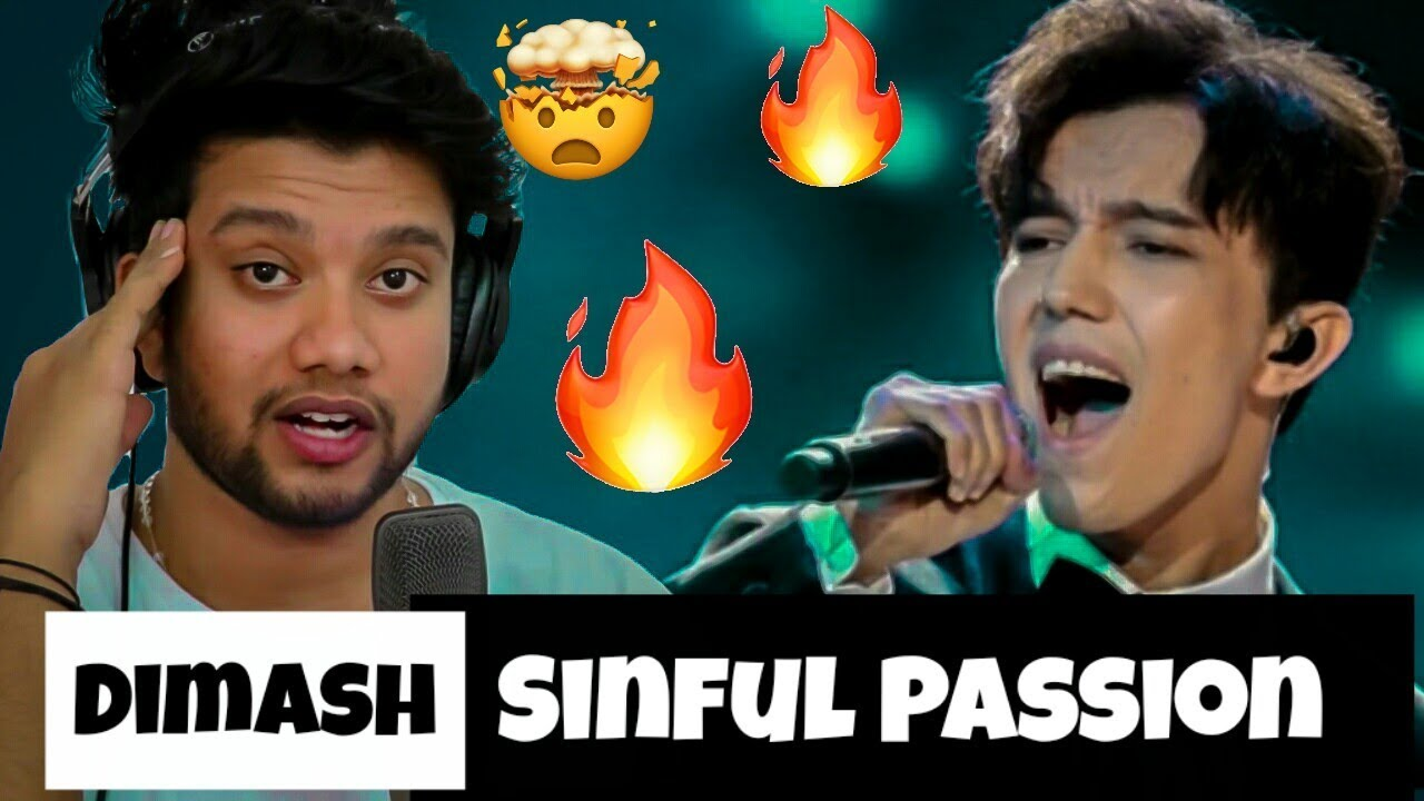 Singer Reacts to Dimash Kudaibergen - Sinful Passion | Mind Blown