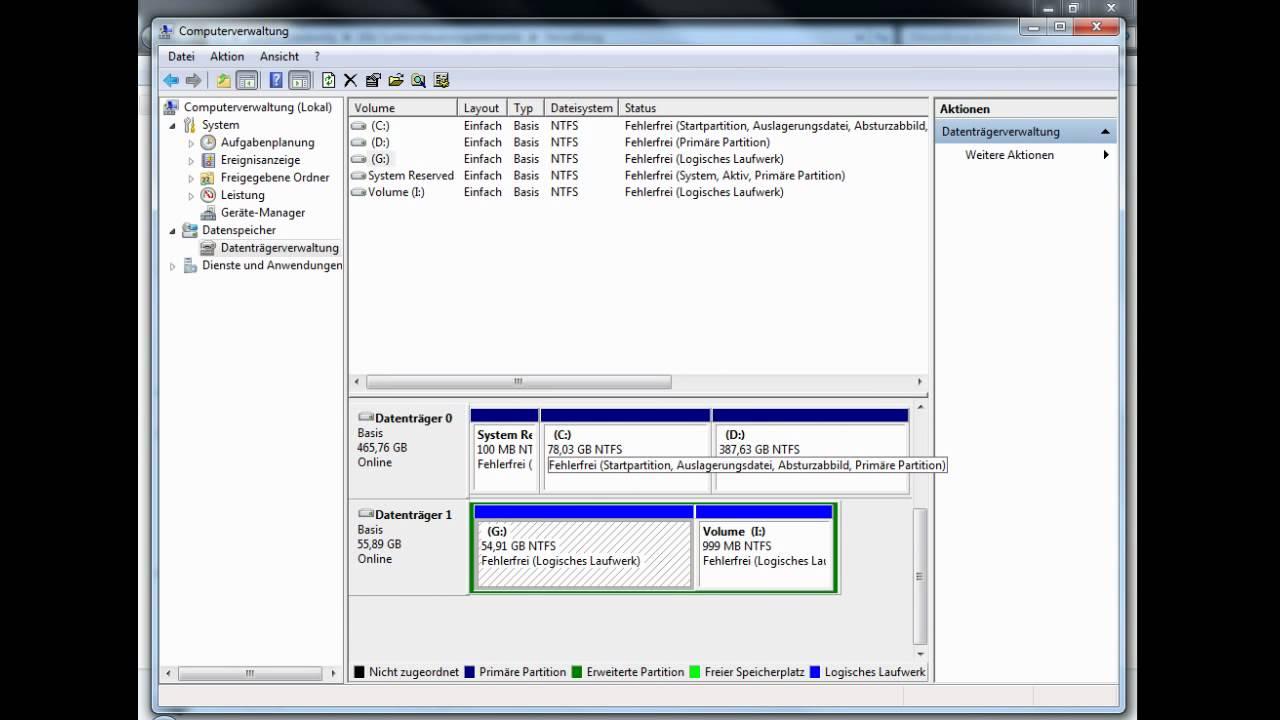 Festplatte Löschen Windows 7