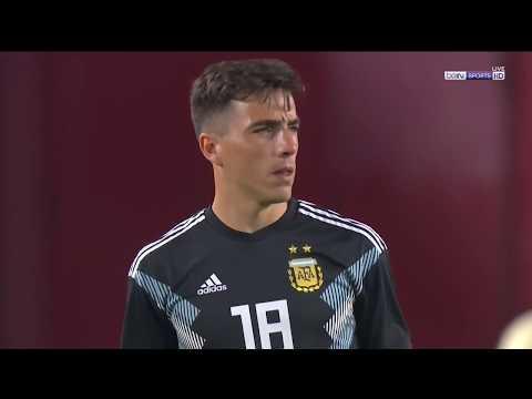 Renzo Saravia vs Guatemala - Debut en la Selección Argentina - 08/09/2018