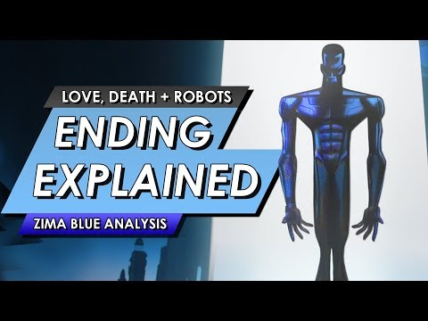 Love, Death And Robots: Zima Blue: Ending Explained | Full Analysis And Breakdown
