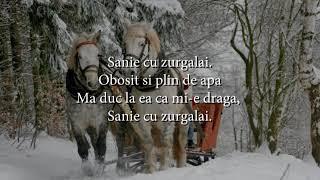 Maria Lataretu - Sanie cu zurgalai (versuri, lyrics, karaoke)