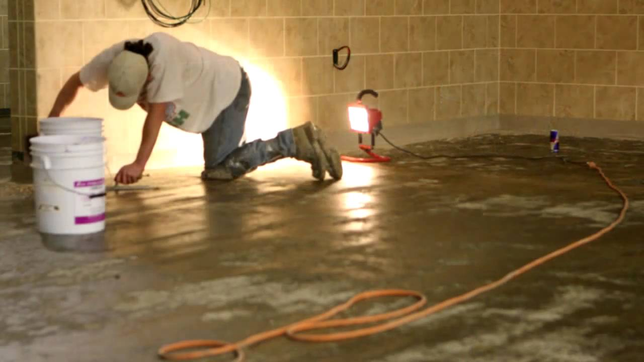 silikal grocery store reactive resin flooring installation. - youtube