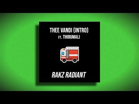 Thee Vandi (Malayalam Rap) - Rakz Radiant ft. Thirumali  | Lyric Video | NIGHT VISION