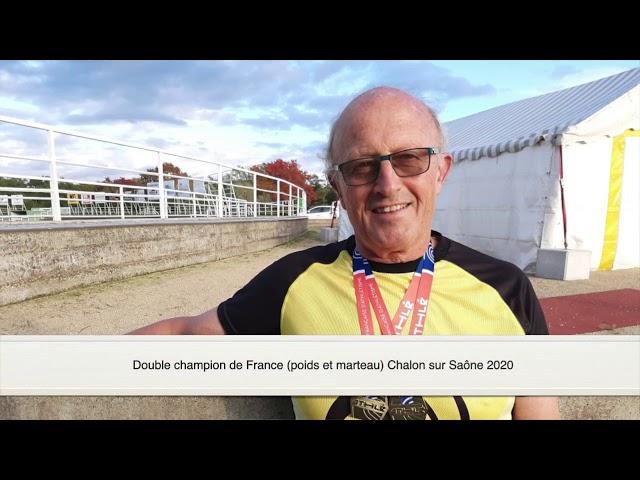 Bernard Hiquet - Champion de France 2020