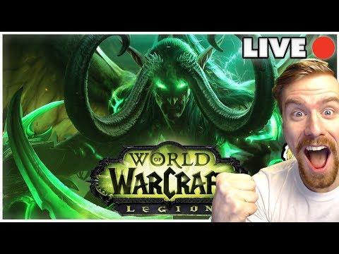 RAIDING TOMB OF SARGERAS | World of Warcraft Legion