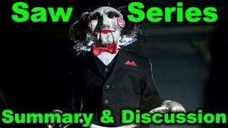 Saw Series Summary Discussion (Podcast) - Recap for Saw 8 Jigsaw (2017)