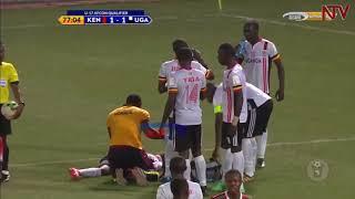 EKIKOPO KYA AFRICA:  Uganda ekubye Kenya mu U-17
