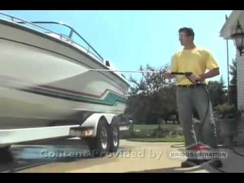 How To Clean Boats with a Briggs and Stratton Pressure Washer