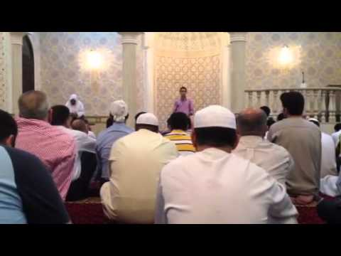 Abdallah Ahmed Taha Speech in Masjid - Dubai