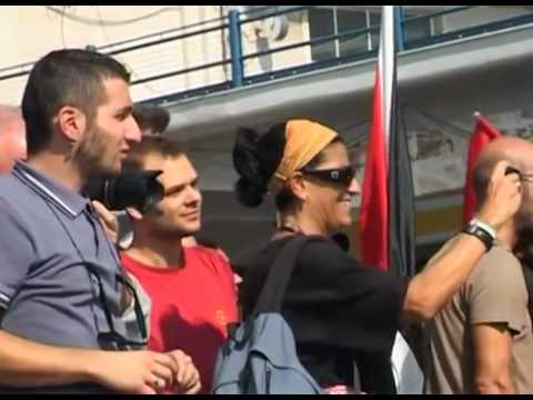 il Veliero Estelle da Napoli verso Gaza (VIDEO senza CENSURA