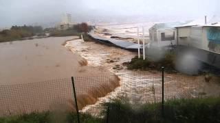Inondation Le Lavandou 19 01 2014