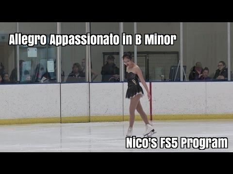 Nico's Freeskate 5 program / Allegro appassionato in B minor