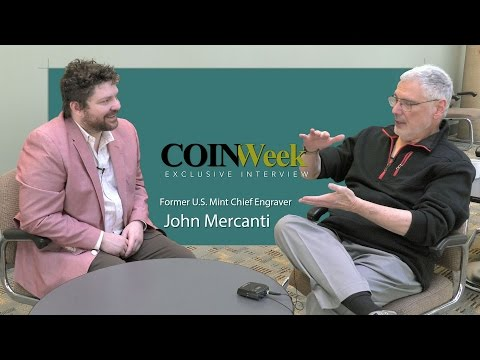 CoinWeek Exclusive  Interview: Former U.S. Mint Chief Engraver John Mercanti
