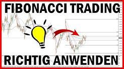 Fibonacci Trading richtig anwenden! - Retracement Strategie für Anfänger (Deutsch)
