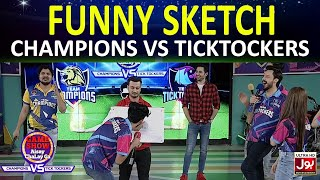 Funny Sketch | Game Show Aisay Chalay Ga League | TickTocker Vs Champions