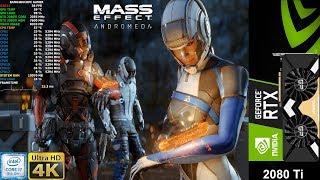 Mass Effect Andromeda Ultra Settings 4K | RTX 2080 Ti | i7 8700K 5.3GHz