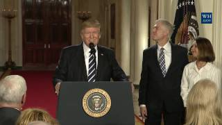 President Trump Announces Supreme Court of the United States Nominee