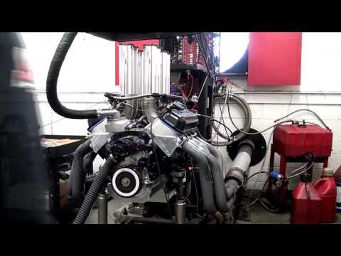 Shafiroff Racing 615 Hilborn EFI-R Pump Gas Engine