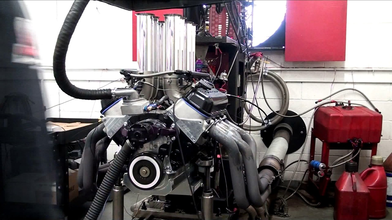 Dyno Comparison Shafiroff 615 Twisted Low Deck-Carb VS