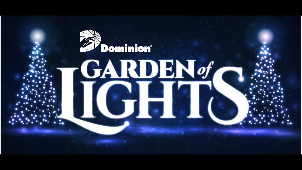 Garden Of Lights   Norfolk VA Botanical Gardens   YouTube