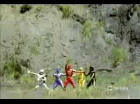 power ranger dino thunder& ninja storm - YouTube