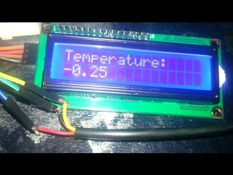 DS18b20 temperature sensor Arduino tutorial
