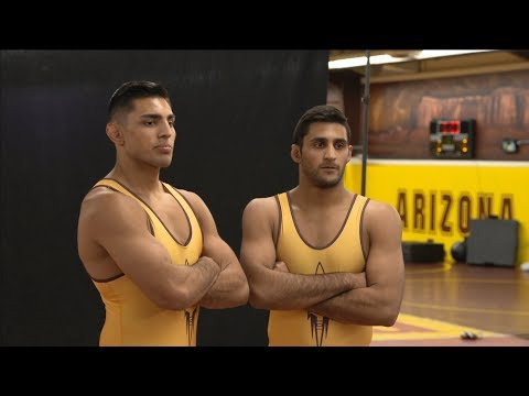 Wrestling brothers Zahid and Anthony Valencia ignite Arizona