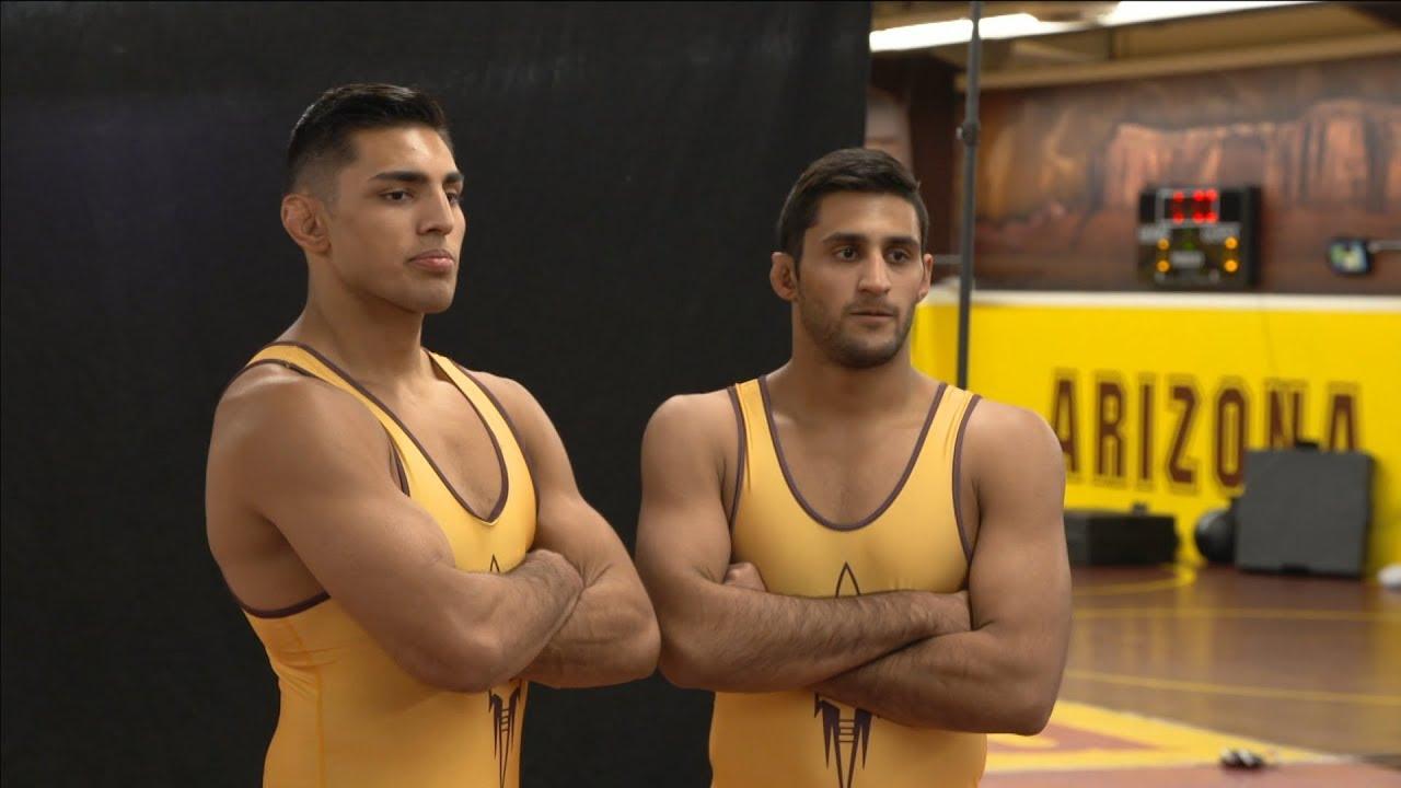 Wrestling brothers Zahid and Anthony Valencia ignite Arizona State program