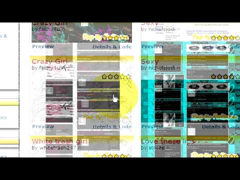MySpace Profile Layout Tips : How To Make A MySpace Layout