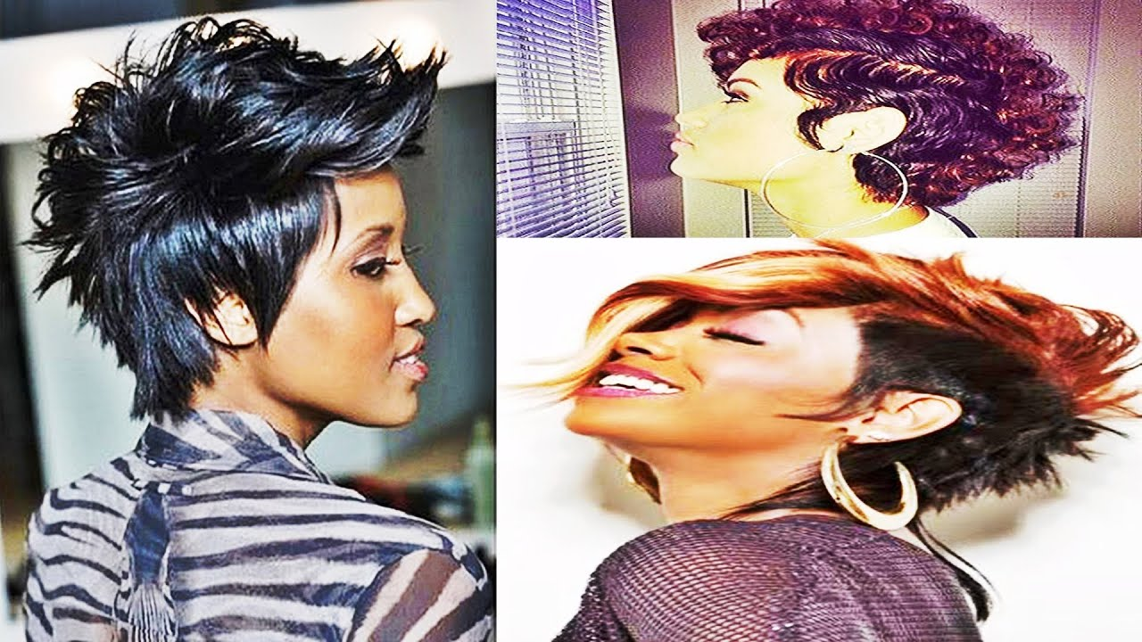 Super Awesome Mohawk Hairstyles For Black Women 2016 Youtube