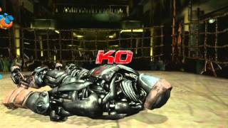 Real Steel: Atom vs Zeus then Other Bots vs Iron Rhyno