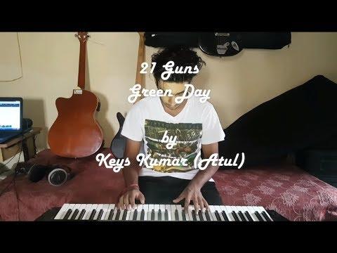 Best Piano Songs - Green Day 21 Guns Cover -  Keys Kumar | VTV