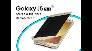 Samsung J5 2017 (J530F) How to change Screen & Digitizer set replacement Full Tutorial