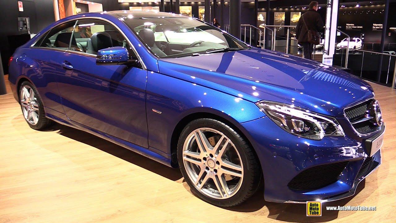 2015 mercedes e220d coupe sport edition exterior walkaround 2015 frankfurt motor show youtube. Black Bedroom Furniture Sets. Home Design Ideas