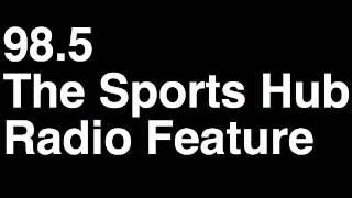 98.5 The Sports Hub Gresh & Zolak Boston Radio Station Runforthecube Radio Feature