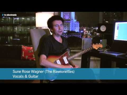 Sune Rose Wagner (The Raveonettes) demoes his