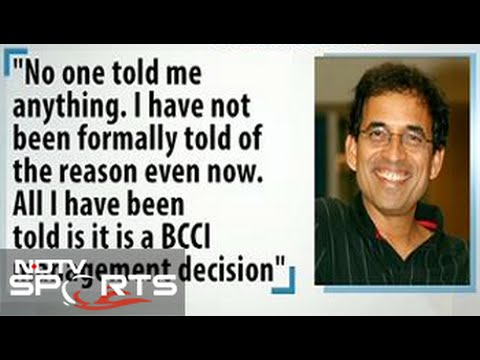 Why did BCCI sack commentator Harsha Bhogle?