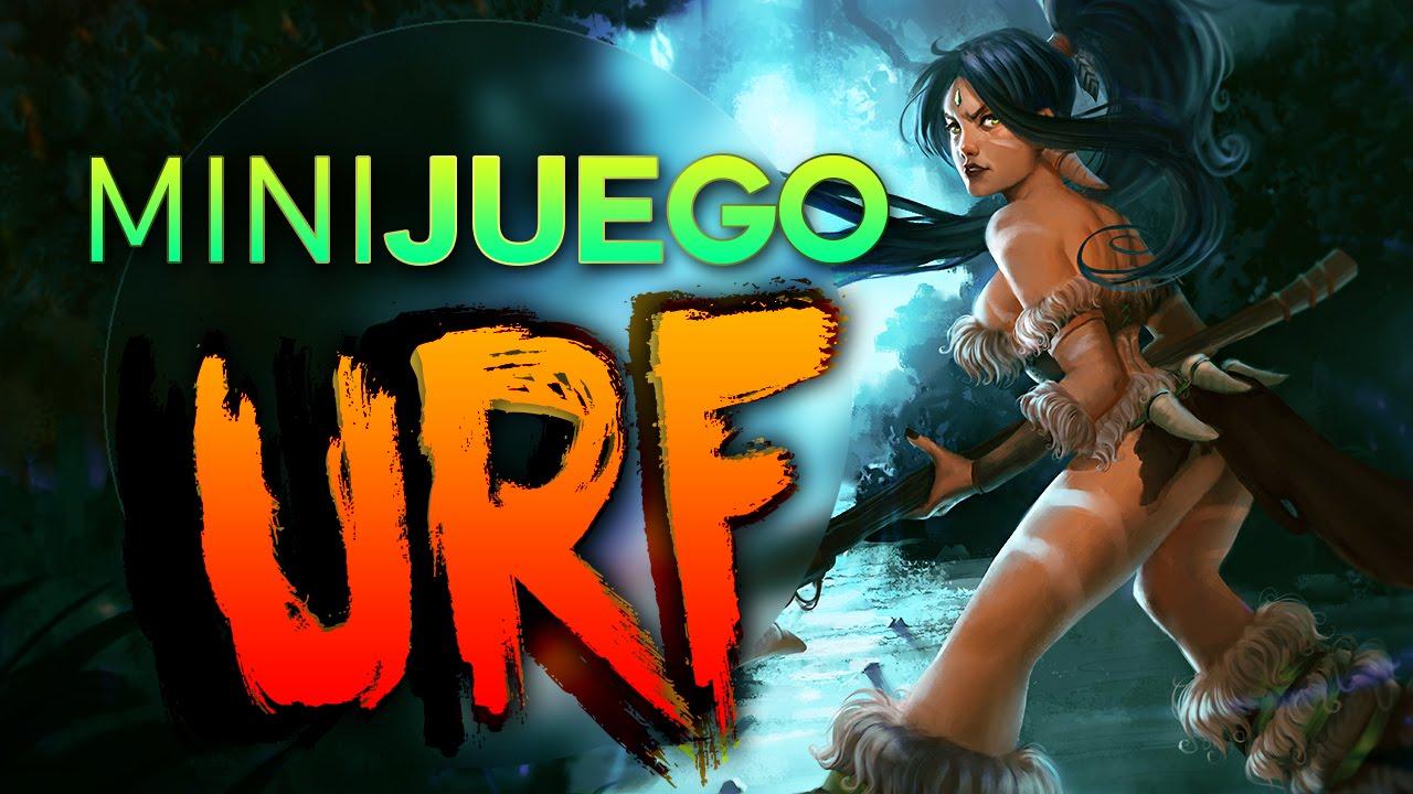 Download MINIJUEGO URF MODE - NIDALEE URF ( Contra Rouz Doble CAM) League of Legends