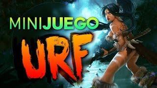 MINIJUEGO URF MODE - NIDALEE URF ( Contra Rouz Doble CAM) League of Legends