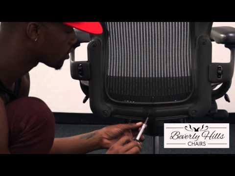How to Install a Posturefit onto a Herman Miller Aeron Chair
