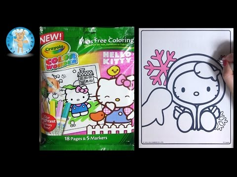 MORE FUN WITH CRAYOLA COLOUR WONDER FROM HELLO KITTY MA