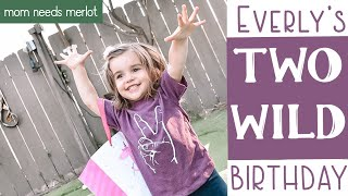 "Zoo-Themed ""TWO WILD"" Birthday Party for Everly & Parker! 