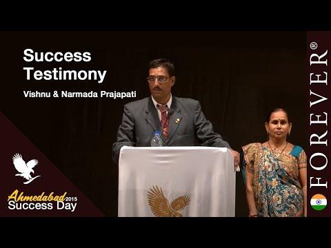Business Testimony by Vishnu & Narmada Prajapati at Ahmedabad Success Day