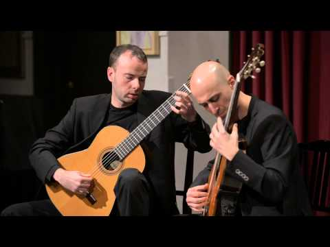 Claude Debussy ~ Clair de lune. Performed by SoloDuo